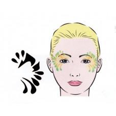 Basic, Schablone für Facepainting und Eye-Design