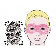 Infinity, Schablone für Facepainting und Eye-Design