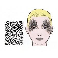 Safari, Schablone für Facepainting und Eye-Design