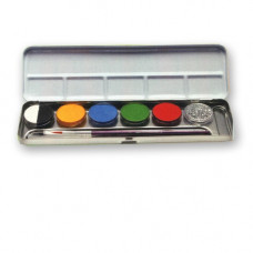 6 Farben Kombi-Metallpalette