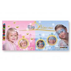 12 Farben Kombi-Metallpalette Eis Princess