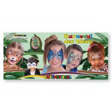 12 Farben Metallpalette Karneval der Tiere