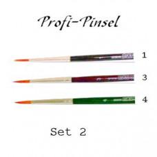 Profi-Pinsel Set 2