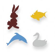 Animals Schablonen-Set