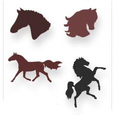 Pferde Schablonen-Set