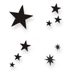 Sterne Schablonen-Set