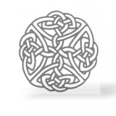 Keltischer Knoten Transferbogen