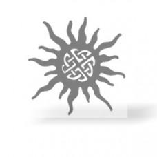 Ethno-Sonne Transferbogen