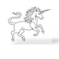 Einhorn Transferbogen