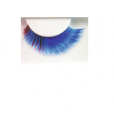 Wimpern blau/lila