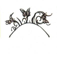 3D-Wimpern Butterfly